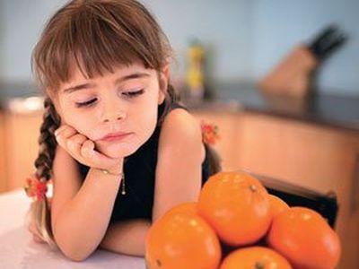 Дети с пищевой аллергией