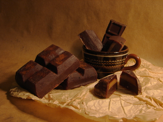 горький шоколад от кашля
